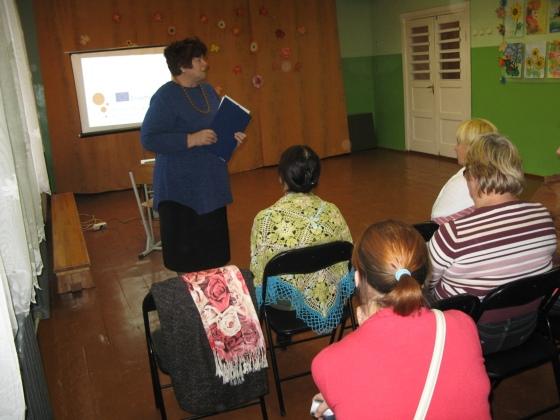 Direktores vietniece izglītības jomā mācību darbā Anita Karlsone