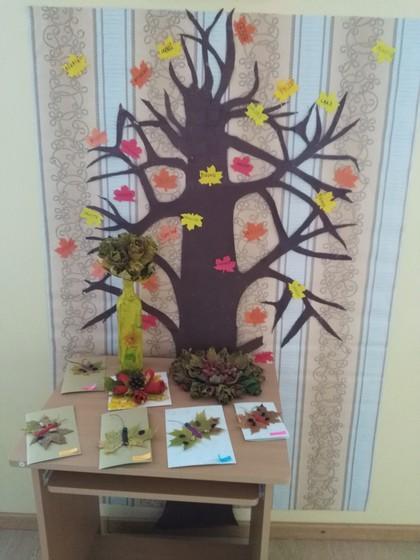 1.-4.klase izveidojusi labo vārdu koku