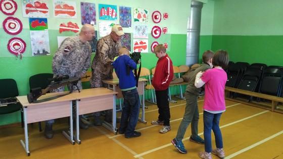 Bērni varēja apskatīt ierošus