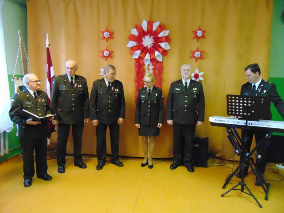 Dzied 52. Zemessardzes bataljona ansamblis