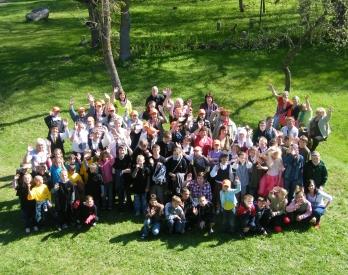 """Zemgales reģiona starpnovadu pasākums """"Būsim kopā!"""" 15.maijā 2013.g."""