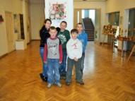 Marina Kopitova, Arnolds Semjonovs, Eduards Puzners, Raivo Sarguns un Andreass Daniels Mikiško skolotājas Dzintras Kovaļevskas vadībā.