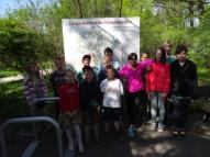 Ekskursija uz Botānisko dārzu 3. maijā 2016.g.