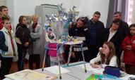 """Foligno mākslas skolas apmeklējums. Vērojam skolēnu mākslas darbu """"Miers"""""""