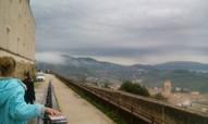 Spoletto pils kalnā