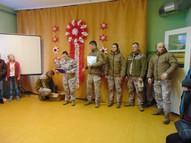 Viesojas 51. Zemessardzes bataljona karavīri.